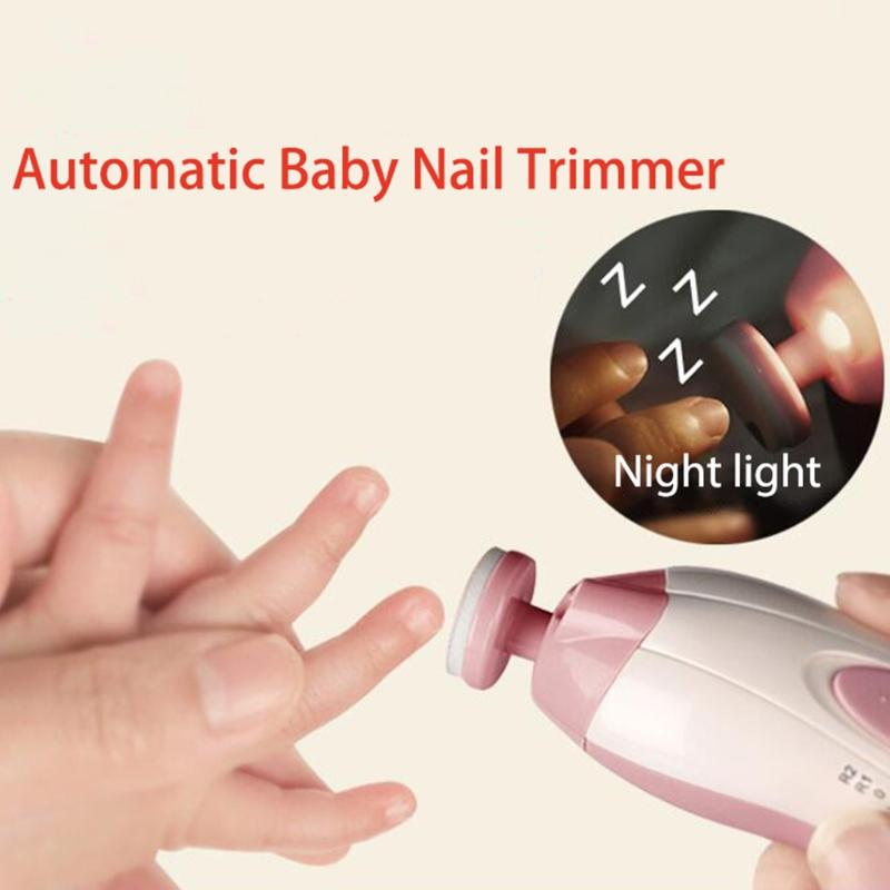Automatic Baby Nail Trimmer & Electric Clipper