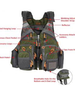 Sport Fishing Life Vest