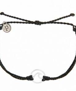 Friendship Black Wave Charm Bracelet