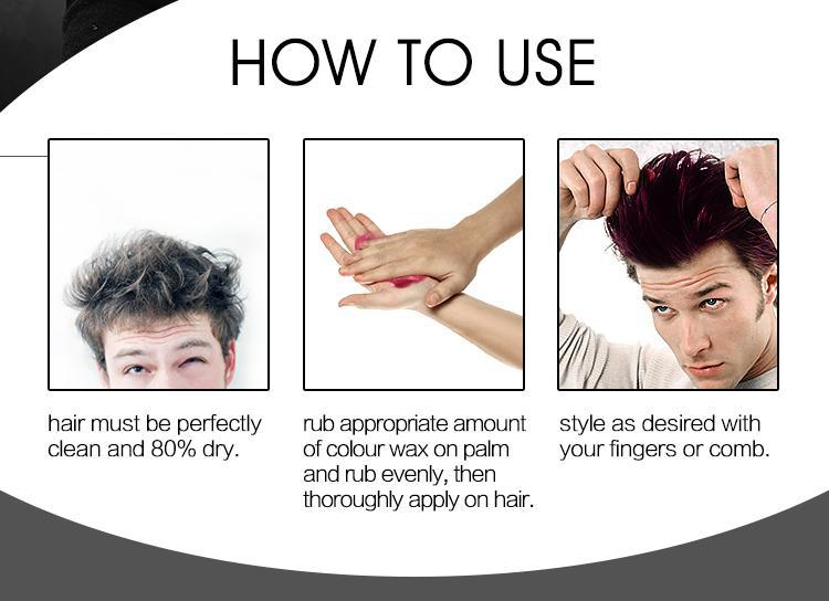Unisex Temporary White Hair Dye