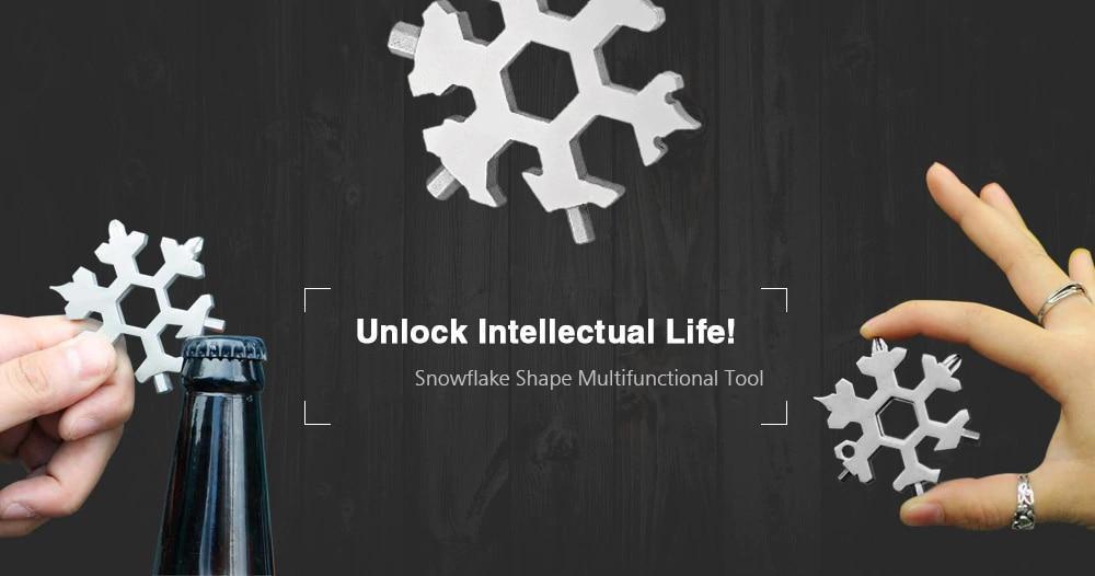 Snowflake Tool - 15 in one Multi Tool