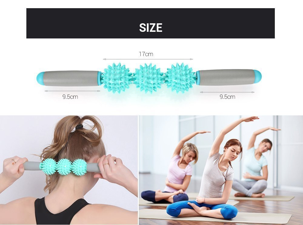 Yoga Massage Stick Muscle Relaxation Exercise Roller