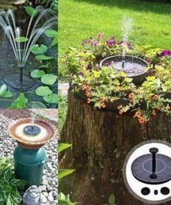 Solar-Powered Easy Bird Fountain Kit
