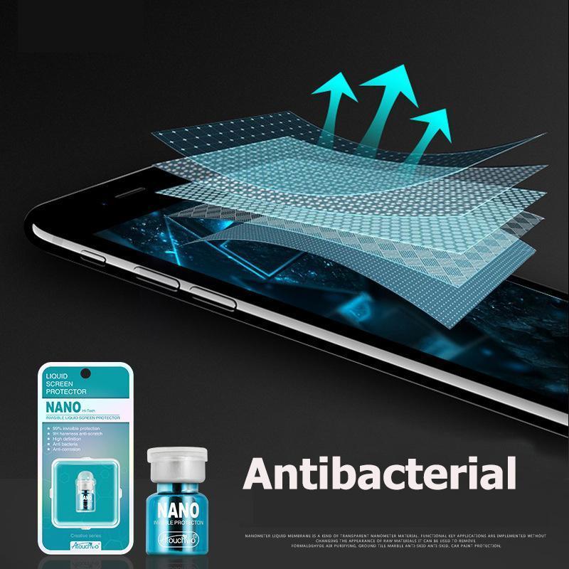 Liquid Glass Screen Protector for Smartphones
