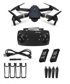 Skyhawk HD Foldable Air Selfie Drone - 2MP & 2 Battery Version