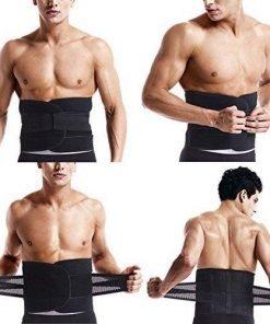 Waist Trainer for Men - Sweat Belt - Burn Stomach Fat