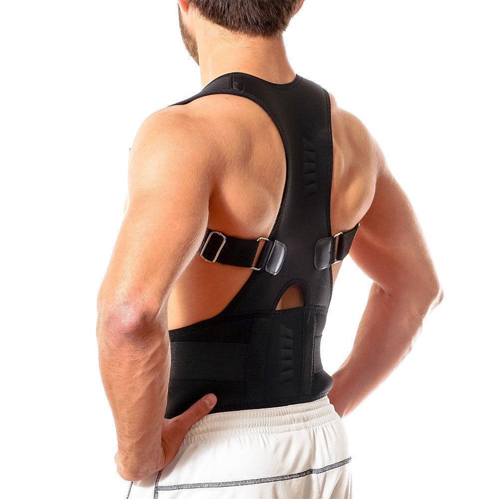 New Magnetic Posture Corrector Neoprene Back Corset Brace Straightener Shoulder Back Belt Spine Support Belt