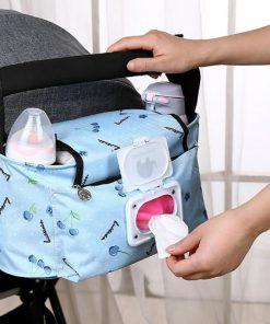 Baby Storage Bag Stroller Organizer