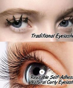d206e43c59c No.1 Reusable Self-Adhesive 3D Natural Curly Eyelashes False Extension