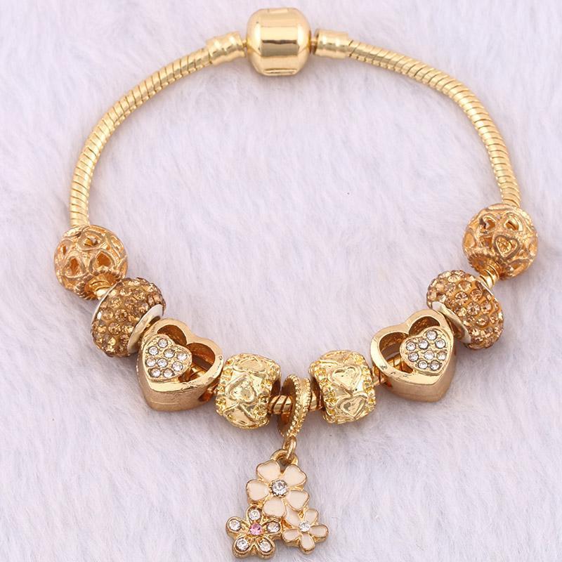 New Famous Brand Jewelry Women Charm Bracelet Pandora