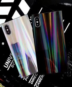 Holographic iPhone Rainbow Colorful Case