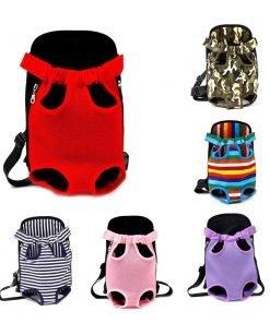 Dog Travel Carrier Backpack - Breathable & Comfy
