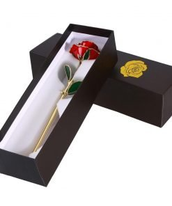 24K GOLD DIPPED ETERNITY ROSE
