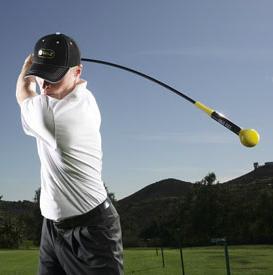 Golf Swing Trainer- Orange Whip