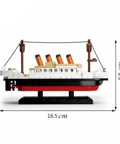 Toy titanic ship building blocks educational toy for 6+ age baby on sale