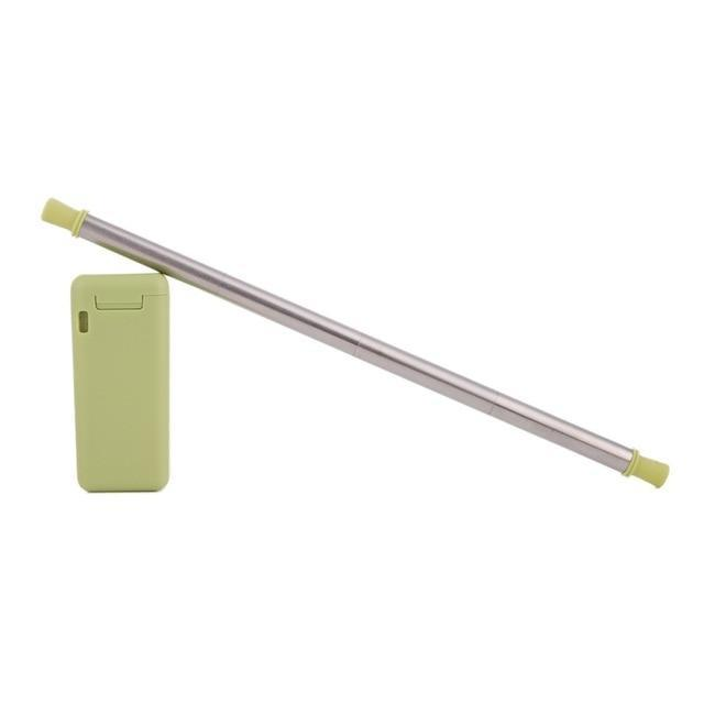 Reusable Colorful Keychain Straw