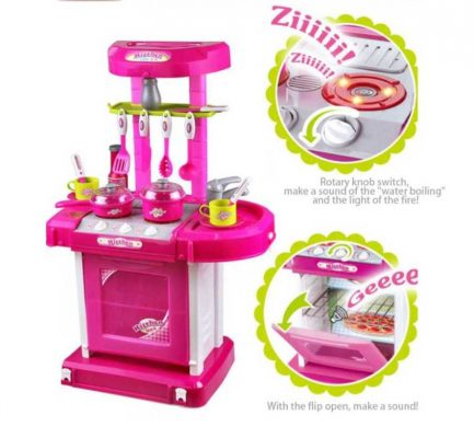 Play Kitchen Set - Kids Kitchen Set