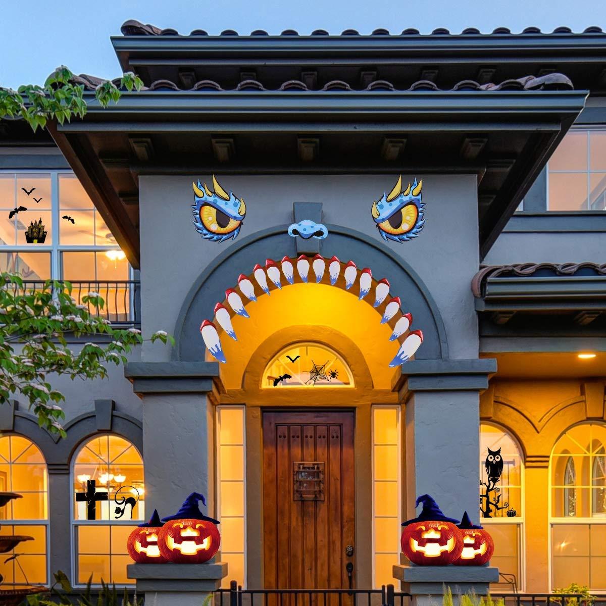 Garage Door Halloween Decorations - Halloween Garage Door ...