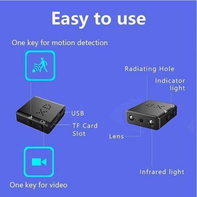 Mini HD Video Camera