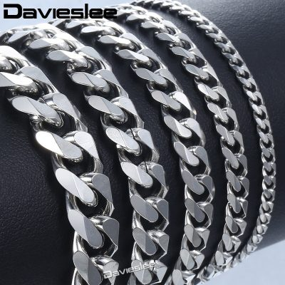 Silver Cuban Link Bracelet