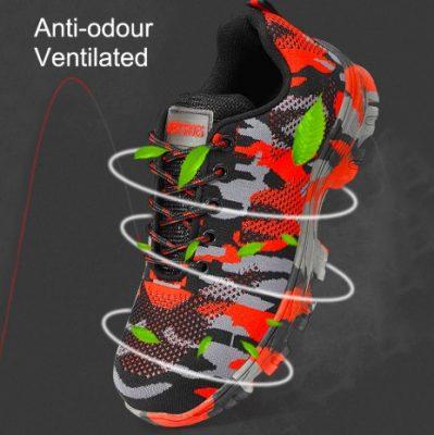 steel toe tennis shoes
