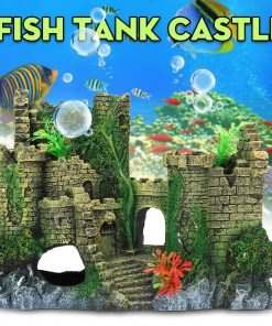 fish tank decorations - Aquarium Castle Decorations